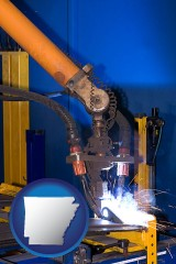 arkansas an industrial welding robot