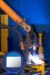 colorado an industrial welding robot