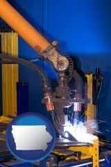 iowa an industrial welding robot