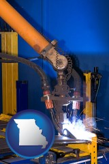 missouri an industrial welding robot