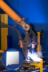 new-mexico an industrial welding robot
