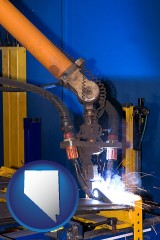 nevada an industrial welding robot