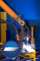 tennessee an industrial welding robot